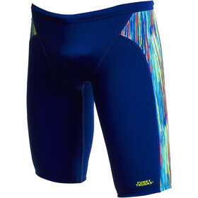 Funky Trunks Training Jammers Boys, blu/colorato
